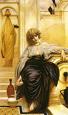 Lieder ohne Worte 1861 - Frederick Lord Leighton reproduction oil painting