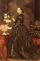 Mrs James Guthrie 1866 - Frederick Lord Leighton reproduction oil painting