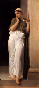 Nausicaa 1878 - Frederick Lord Leighton reproduction oil painting