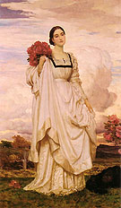 The Countess Brownlow 1879 - Frederick Lord Leighton reproduction oil painting