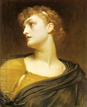 Antigone 1882 - Frederick Lord Leighton reproduction oil painting