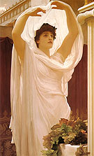 Invocation 1889 - Frederick Lord Leighton reproduction oil painting