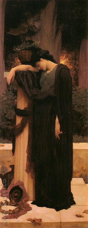 Lachrymae 1895 - Frederick Lord Leighton reproduction oil painting