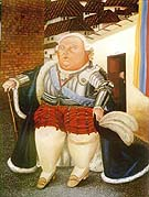 Ludwig XVI and Marie Antoinette 1990 - Fernando Botero reproduction oil painting