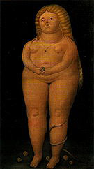 Eve 1968 - Fernando Botero reproduction oil painting