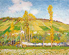 An Autumn Afternoon Giverny 1910 - Alson Skinner Clark reproduction oil painting