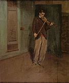 The Violinist 1901 - Alson Skinner Clark reproduction oil painting