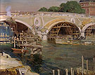 The Bridge Builders 1904 - Alson Skinner Clark reproduction oil painting
