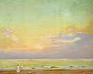 Sunset Normandy 1910 - Alson Skinner Clark