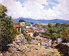 Road to Cortes Cuernavaca 1923 - Alson Skinner Clark reproduction oil painting