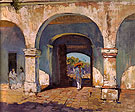 Sol y Sombra 1923 - Alson Skinner Clark reproduction oil painting