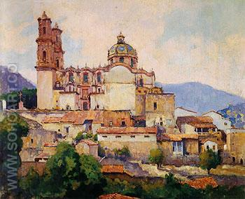Taxco 1931 - Alson Skinner Clark reproduction oil painting