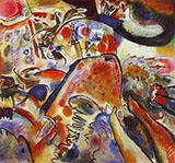 Small Pleasures 1912 - Wassily Kandinsky