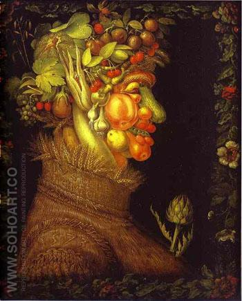 Summer 1573 - Giuseppe Arcimboldo reproduction oil painting