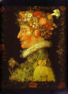 Spring 1573 - Giuseppe Arcimboldo reproduction oil painting