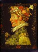 Spring 1573 - Giuseppe Arcimboldo