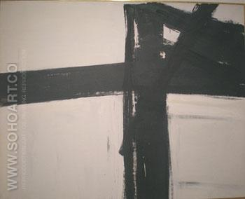 Bethlehem 1960 - Franz Kline reproduction oil painting