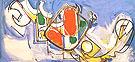 Moloch I 1946 - Hans Hofmann reproduction oil painting