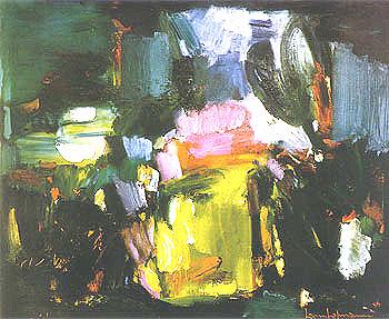Jardin Amour 1959 - Hans Hofmann reproduction oil painting