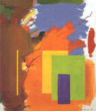 Autumn Chill and Sun 1962 - Hans Hofmann reproduction oil painting