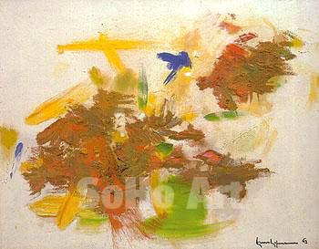 Rossignol 1963 - Hans Hofmann reproduction oil painting