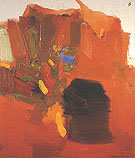 Evening Red 1965 - Hans Hofmann