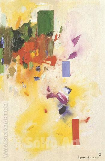 The Castle 1965 - Hans Hofmann reproduction oil painting