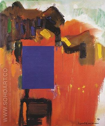 Paling Moon 1965 - Hans Hofmann reproduction oil painting
