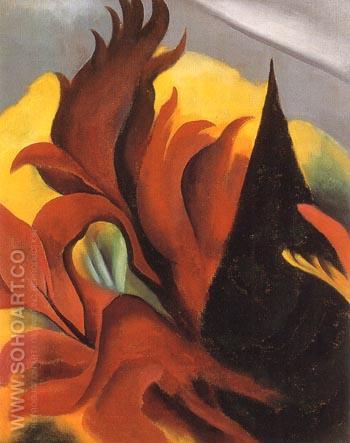 red maple 1922 georgia o keeffe reproduction oil painting