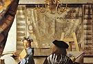 detail form the Art of Painting - Johannes Vermeer