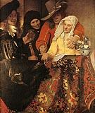 The Procuress 1656 - Johannes Vermeer