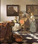 The Trio 1664 - Johannes Vermeer