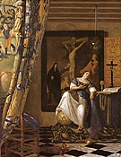 Allegory of Faith - Johannes Vermeer