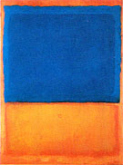 Untitled Red Blue Orange 1955 Oversize - Mark Rothko