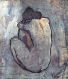 blue nude - Pablo Picasso reproduction oil painting