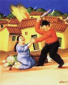 Massacre - Fernando Botero reproduction oil painting