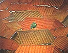 Roofs - Fernando Botero reproduction oil painting
