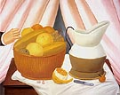 Still Life 1983 - Fernando Botero reproduction oil painting