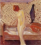 Woman by the Bed 1909 - Edvard Munch