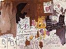 Skin Head Wig 1982 - Jean-Michel-Basquiat