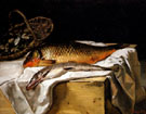 Still Life with Fish 1866 - Frederic Bazille
