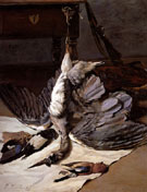 The Heron 1867 - Frederic Bazille