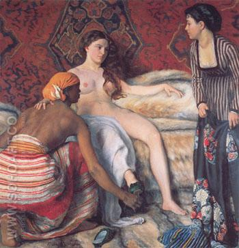 La Toilette 1870 - Frederic Bazille reproduction oil painting