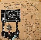 Native Carrying Some Guns Bibles Amorites on Safari 1982 - Jean-Michel-Basquiat