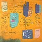 Untitled 1983 - Jean-Michel-Basquiat
