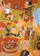 Wine of Babylon 1984 - Jean-Michel-Basquiat