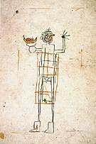 Untitled 1982 - Jean-Michel-Basquiat