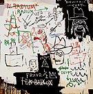 Future Sciences Versus the Man 1982 - Jean-Michel-Basquiat
