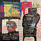 The Italian  Version of Popeye has No Pork in His Diet 1982 - Jean-Michel-Basquiat