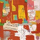 Dos Cabezas2 1983 - Jean-Michel-Basquiat